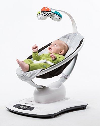 4moms mamaroo baby swing designer plush import it all for Baby garden swing amazon