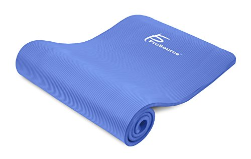 Prosource Premium 1/2-Inch Extra Thick 71-Inch Long High Density Exercise Yoga Mat...
