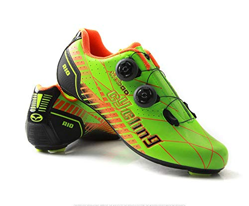 Tiebao Professional Road Bike Cycling Shoes Ultralight Breathable Carbon Fiber Non-Slip Riding Shoes