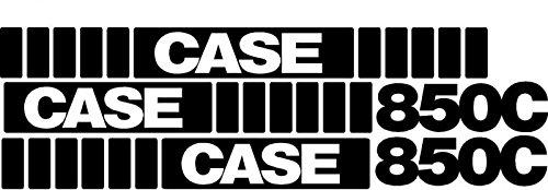 850C Whole Machine Case Crawler Dozer Decal Set ()