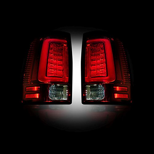 RECON 264336RD Dodge Ram 2013-2017 - Ram 2500/3500 2014-2016 Red Tail Lights LED ()