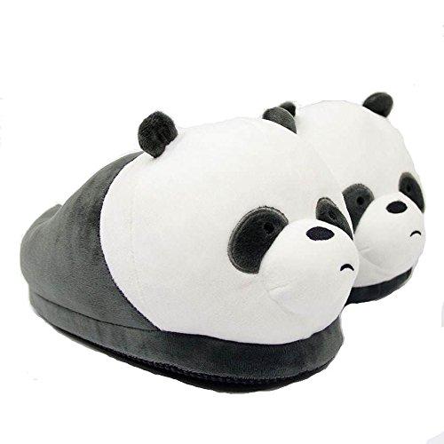 Panda2 Morbido Da Scarpe Pantofole Imbottite Peluches Ciabatte Antiscivolo Animali Invernali Kigurumi Carnevale U7PqaUw