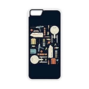 To Boldly Go iPhone 6 4.7 Inch Cell Phone Case White Tlcfu