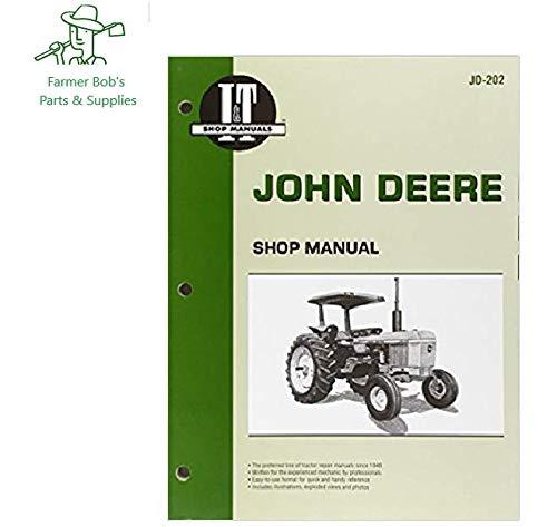 I&T Shop Manual, John Deere Models, 2510, 2520, 2040, 2240, 2440, 2630 4440 + I&T Shop Manual JD202