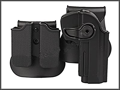 Retention Roto Holster and Double Magazine Carrier Set Pistol Holster Fits Beretta 92 96 M92