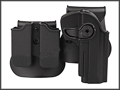 - Retention Roto Holster and Double Magazine Carrier Set Pistol Holster Fits Beretta 92 96 M92