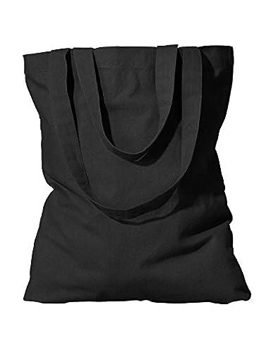 Econscious Organic Cotton Promo Tote, Black, One Size
