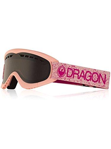 Dragon Alliance DXs Ski Goggles, Pink, Pink/Dark Smoke Lens