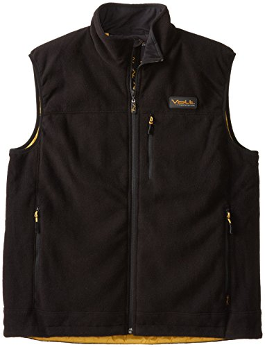 Volt Heated fleece vest, Black, XX-Large
