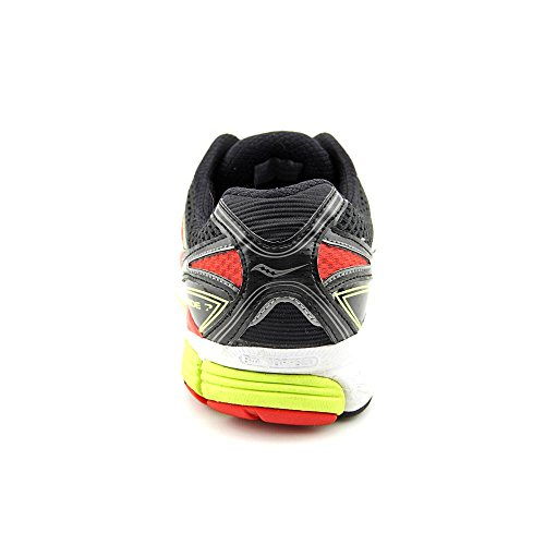 Saucony Guide Black-Citron-Red