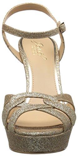 Badgley Alysa Dorado Con Tacón Para Sandalia Mujer Mischka P8rTPwxqnC
