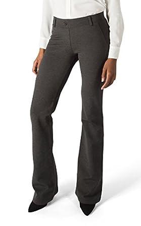 Betabrand Women S Dress Pant Yoga Pants Boot Cut At