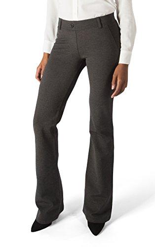 Betabrand Womens Dress Pants Boot Cut
