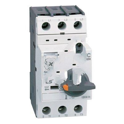 Altech MMS-32H-32A, Motor Starter, Manual, Type E, 30kA Interrupt, 600VAC Max., 32A, MMS Series ()