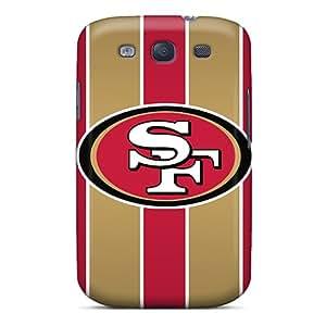 Samsung Galaxy S3 BOd8525ToQk Unique Design Lifelike San Francisco 49ers Skin Bumper Cell-phone Hard Covers -InesWeldon