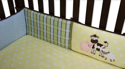 Farm Yard Crib Set - 6