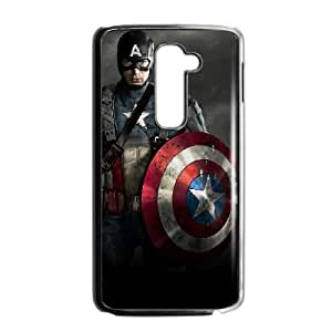 Captain America LG G2 Phone Case Black white Gift Holiday Gifts Souvenir Halloween Gift Christmas Gifts TIGER156658
