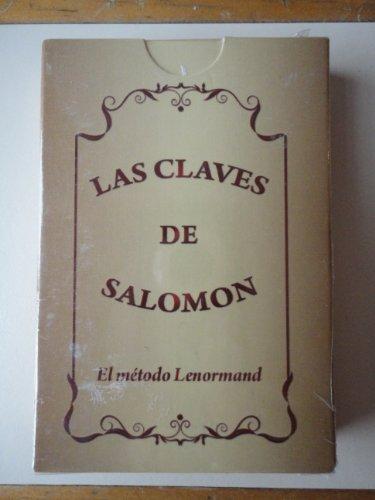 Price comparison product image LAS CLAVES DE SALOMON Metodo Lenormand Cartas - Naipes