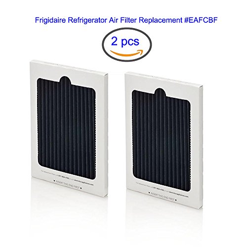 Fluar 2pcs Replacement for Electrolux EAFCBF Pure Advantage Air Filter fits all Electrolux/ Refrigerators, Except for Electrolux ICON French Door Models - Pure Advantage Filtration Systems