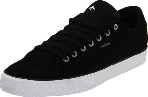 Emerica HSU 2 LOW FUSION 6102000070 - Zapatillas de skate de ante unisex Negro (Schwarz (Black/White))