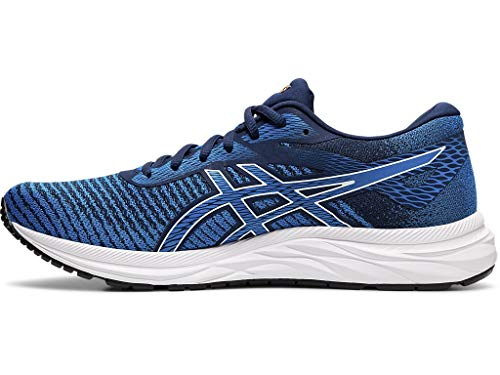 ASICS Men's Gel-Excite 6 Twist Running Shoes, 15M, Blue Expanse/White