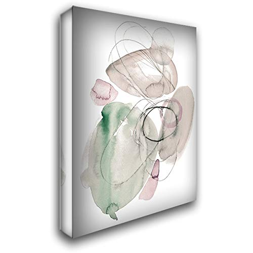 (Sea Glass Stack II 36x48 Extra Large Gallery Wrapped Stretched Canvas Art by Parker, Jennifer)