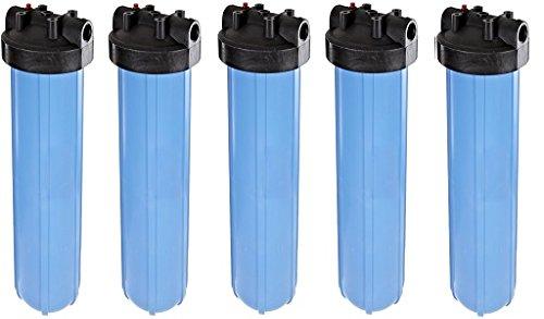 Pentek 150233, Big Blue, 1'' In/Out, #20 Blue/Black, HFPP, w/ PR (5-(Pack))