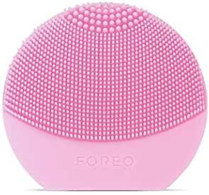 FOREO Luna Play Plus Portable Facial Cleansing Brush, Pearl Pink