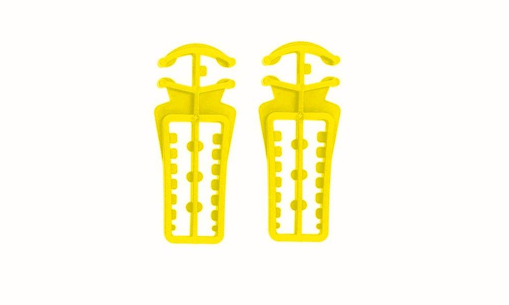 REX Langlauf Ski- und Stockhalter, gelb