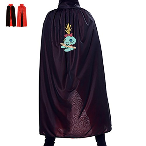 Devil Terrible Demon Cloak Cape Men Women Mantle Halloween Gift for Teens Adults