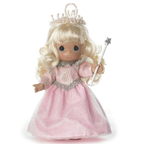 Precious Moments Dolls by The Doll Maker, Linda Rick, Glinda, Good Witch, Witch-Ful Thinking, Wizard of Oz, 7 inch - Doll Vinyl Moments Precious