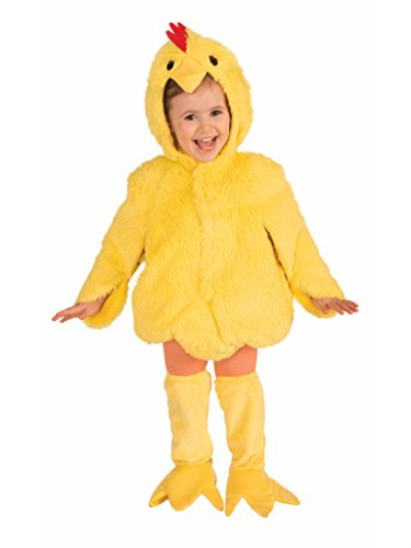 Forum Novelties Plush Cuddlee Lovable Chicken Costume, Child Small -