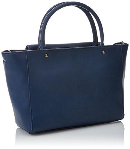 W Mujer x Baguette para 5 H Bolso cm LOLA x 13x23x38 Azul CASADEMUNT Angie L Marino 7XnWxPT
