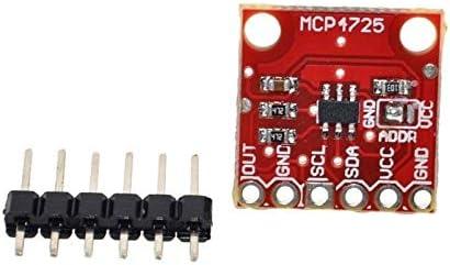TECNOIOT 5pcs CJMCU-MCP4725 I2C DAC Modulo de Placa de Desarrollo de desbloqueo Resolucion de 12 bits|5pcs MCP4725 I2C DAC Breakout Module Development Board CJMCU-MCP4725