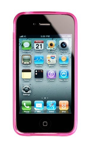 Kensington Grip Case für Apple iPhone 4S pink