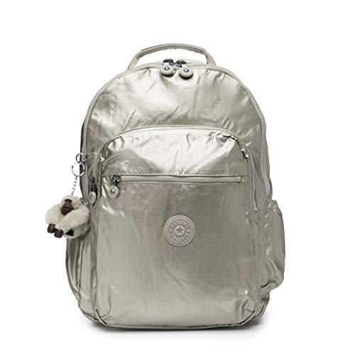 (Kipling Seoul Go Laptop, Padded, Adjustable Backpack Straps, Zip Closure, Cloud)