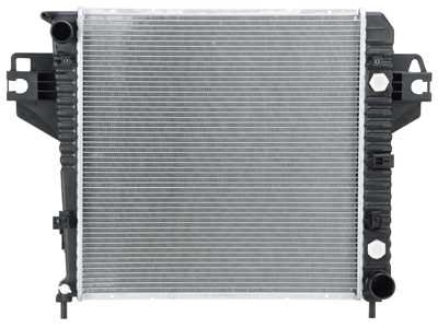 Prime Choice Auto Parts RK973 New Aluminum Radiator