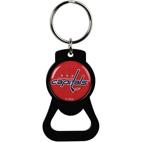 NHL Washington Capitals NHL-BK-702-10-BK Bottle Opener Key Ring, One Size, Multicolor