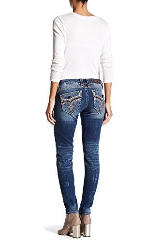 Rock Revival - Womens Ellor Rhinestone Skinny Jeans Denim
