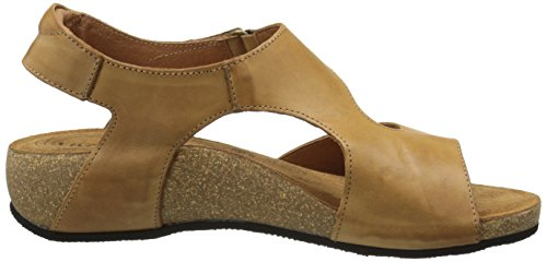 Taos Women's Rita Wedge Sandal, Tan, 41 EU/10-10.5 M US by Taos (Image #7)