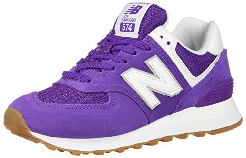New Balance Womens 574v2 Sneaker Storm Blue / White