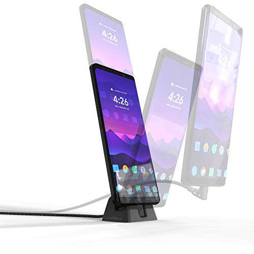 Elevation Lab CordDock USB-C for Android Phones - A Hybrid Experimental Charger Combining The Benefits of a Dock, Freedom of a Cord, and Fast Charging