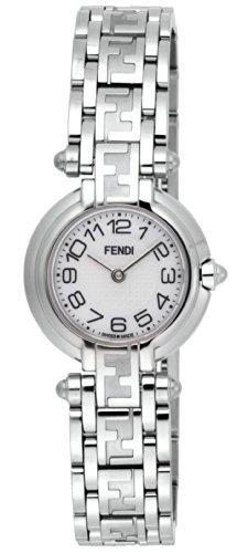 FENDI watch Zucca white pearl dial Date F78240 Ladies