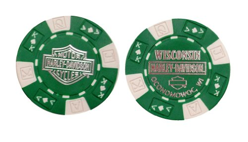 Harley-Davidson Wisconsin Harley-Davidson Poker Chip for sale  Delivered anywhere in USA