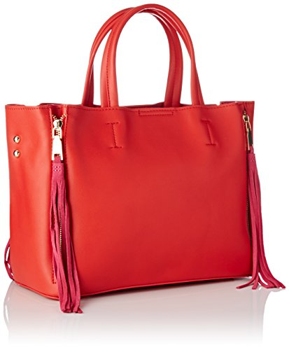 Sac Lollipops Shopper Red Rouge porté Bunglea épaule UUzxnrqwE4