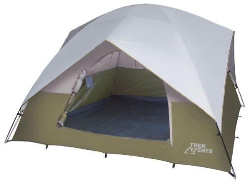 Trek Tents 218 Polyester Taffeta 6 Person Family Dome 10′ x 10′ Tent, Outdoor Stuffs