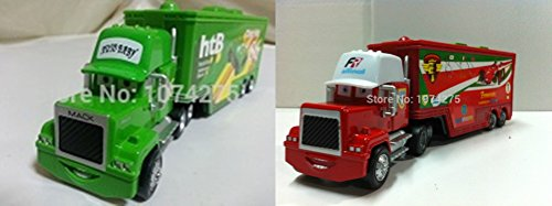 Scale Die Cast Decal Sheet - Car Toys Pixar 1:55 Scale Diecast No.86 Mack Racer's Truck & Mack Francesco Bernoulli Truck Toy and Car Collectors