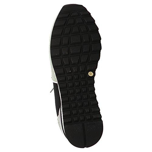 P448 E8Boston, Baskets pour Homme Noir Noir Beige