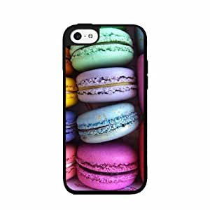 Colorful Macaroons TPU RUBBER SILICONE Phone Case Back Cover iPhone 5c