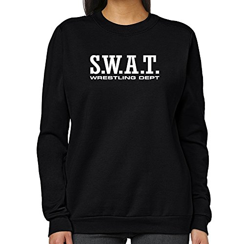 Teeburon SWAT Wrestling DEPT Women Sweatshirt by Teeburon